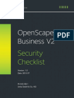 OpenScape Business V2 Security Checklist