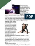Elementos Del Movimiento Acrobacia,Acrobacia,Elemento Artistica Para Hombre y Mujeres y Otros Nacional Tabajo Full