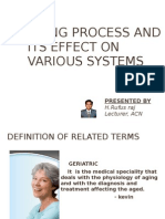 Aging Process and Its Effect On