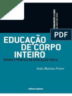 Educação de Corpo Inteiro - Teoria e Prática Da Educação Física