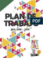 Plan de Trabajo REA 2018-2019 Intégrate PUCP