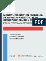 Manual de Gestion Editorial de Revistas Cientificas de Ciencias Sociales y Humanas