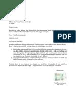 Permohonann Apply Fitria 03011107