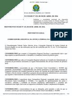 Provimento Coger 129-2016.Ocr