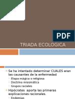 6 TRIADA ECOLOGICA