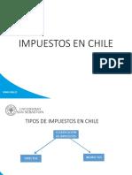 Impuestos en Chile USS 2016