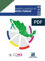 Anuario Estadístico y Geográfico Del Distrito Federal 2015