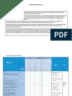 Programación Anual, Unidades y Sesiones 3º comunicacion