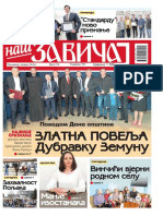 Naš Zavičaj April 2018