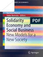 (SpringerBriefs in Economics) Noriatsu Matsui, Yukio Ikemoto (Eds.)-Solidarity Economy and Social Business_ New Models for a New Society-Springer Japan (2015)