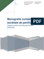 Monografie Contabila - Societate de Panificatie Fabrica de Paine