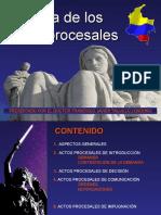 Actos Procesales -Unincca