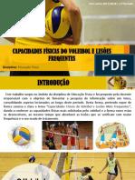 Capacidades Físicas Voleibol_Lesões Frequentes