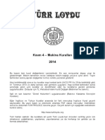 Kisim 4 Makina Kurallari 2014