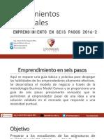 1 Lineamientos Generales EMPRENDIMIENTO 2016 2
