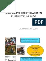1.-Escenario Pre Hospitalario