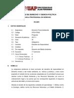 Derecho Penal Ambiental (11 - Ciclo) - Antigua Curricula
