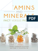 Vitamins and Minerals Fact Versus Fiction