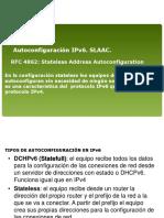 Presentación Autoconfiguración IPv6