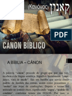 Cânon Curso de Teologia PIBR