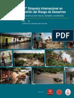 Folleto 12° Simposio Internacional en Gestión del Riesgo de Desastres