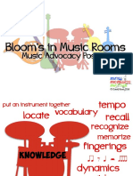 Blooms in Music Rooms