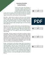 Cymbal Notation