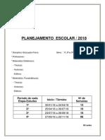Plano de Curso Educação Física 1º, 2º e 3º Anos 2018