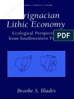 0306471884 - PAurignacian Lithic Economy Ecological Perspectives from Southwestern France - (2001).pdf