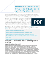4 Cara Aktifkan ICloud Dikunci iPhone 7