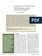 2017 Optimization of Flotation Plant Performance Using Micro-price Analysis