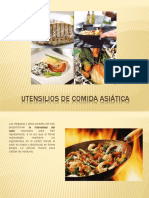 Utensilios Cocina Asiatica
