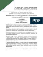Ley de Atención a Víctimas Del Estado de Jalisco