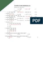 Evaluación Nº 13 de Matemática p