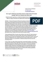 UChicago Consortium School Closings in Chicago Press Release (1)