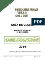 4 Grado - Comunicación i . Iiib