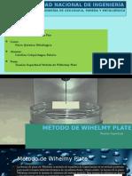 Método Wihelmy Plate