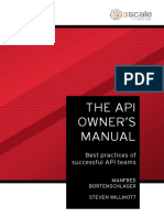 The API Owner's manual