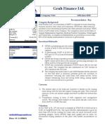 Gruh Finance Ltd 11/06/2010
