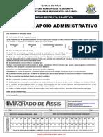 Agente de Apoio Administrativo