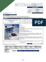 Cotización CHECKIT® (14 70 20) CHAHAPOYAS
