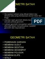 1.GEOMETRI SATAH