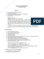 Outline in Legal Profession (1)