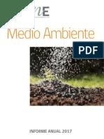Informe Anual de Medio Ambiente 2017