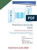 Practica Calcular Pago - Programa Visual Studio.net