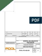 1.POOL-PO-AE-001 Rev. 0 General de Cableado  Electrico.doc