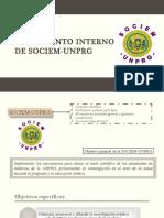 Reglamento Interno de Sociem-unprg