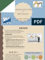 Organización y Métodos Paula