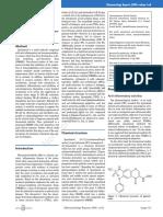 Iguratimod (T-614)- A Novel Disease-modifying Anti-rheumatic Drug