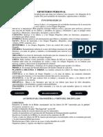 04 funciones Ministerio Personal  para imprimir